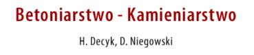 Kamieniarstwo Mazowieckie Warszawa Zielonka